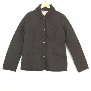 Old Navy Black Quilted Jacket Lightweight EUC Med
